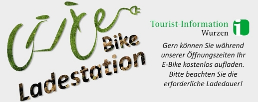 E-Bike Ladestation © Tourist-Information Wurzen